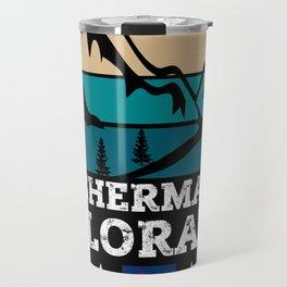 MOUNT SHERMAN Colorado Travel Mug