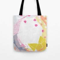 atlas Tote Bags featuring Atlas by lizzy gray kitchens