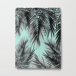 Palm Leaf Jungle Vibes #2 #tropical #decor #art #society6 Metal Print