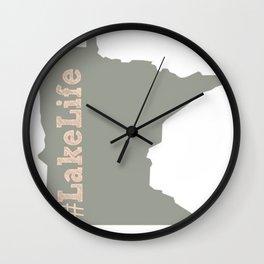 #Lakelife Wall Clock