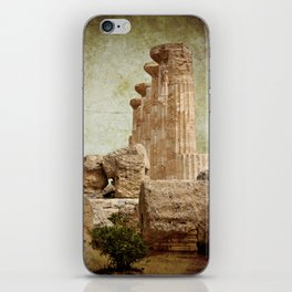 The temple of Heracles iPhone Skin