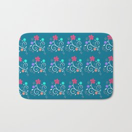 April flowers Bath Mat