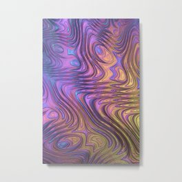 Frax Fractal Metal Print