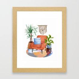Indoor Plants 2 Framed Art Print
