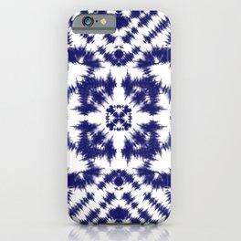 Blue & White Itajime iPhone Case