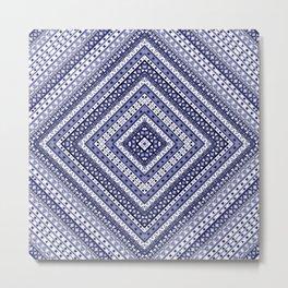 digital pattern Ethnic ornament, tribal Metal Print