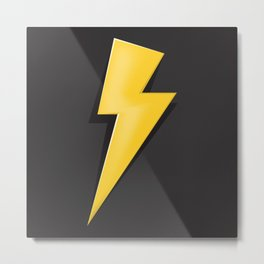 Lighting Bolt  Metal Print