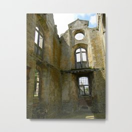 Shadow of Kirby Hall Metal Print