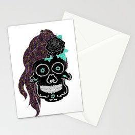 If looks could kill; you'd be a murderer Stationery Cards