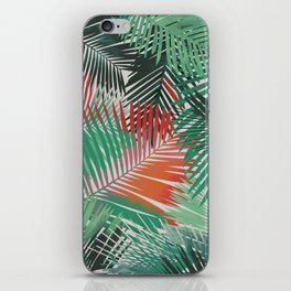 Tropical Palm Fronds Yolanda Fronda iPhone Skin