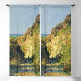 """Claude Monet """"Le chemin creux"""" """"(The hollow road)"""" Blackout Curtain"""