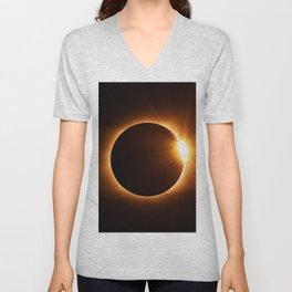 The Eclipse (Color) Unisex V-Neck