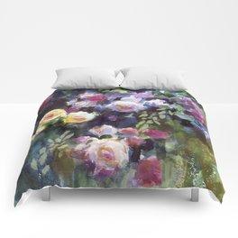Climbing Roses Comforters