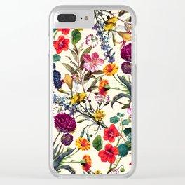 Magical Garden V Clear iPhone Case