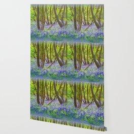 BLUEBELL JOY Wallpaper