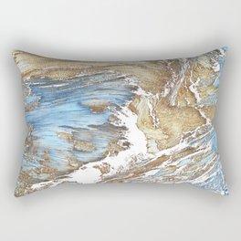 Woody Silver Rectangular Pillow