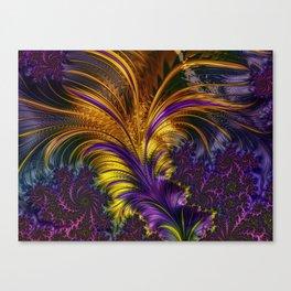 Fractal feather Canvas Print