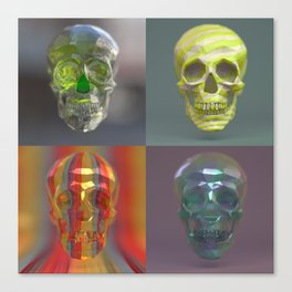 Skull Collection 05 Canvas Print