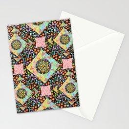 Boho Chic Patchwork Stationery Cards