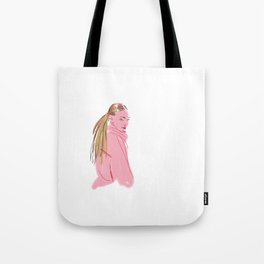 Hairstyle texture Tote Bag