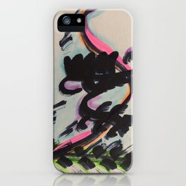 How Life Feels. iPhone Case