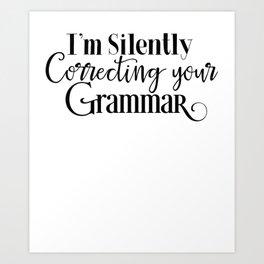 Nerdy Girls Grammarnazi Funny Geek Smarty Pants Unisex Shirt Art Print