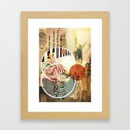 MUSICAL SEASONS. CLIPPINGS UNTITLED (series) Framed Art Print
