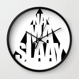 Namaslaay Wall Clock