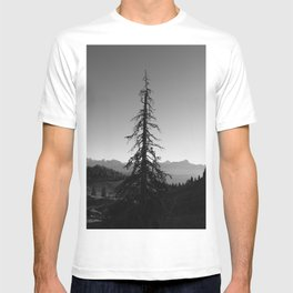 Black Tree in the Mountains T-shirt
