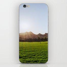 Green sea iPhone Skin