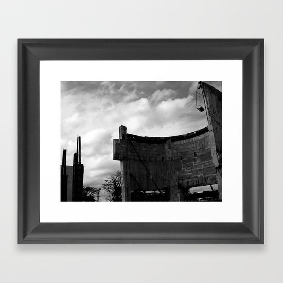 Damaged Deco Framed Art Print