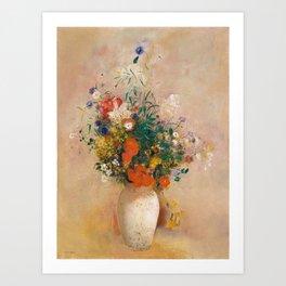 Odilon Redon - Vase of Flowers (1906) Art Print