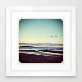 Beach Portmarnock - Instagram Framed Art Print