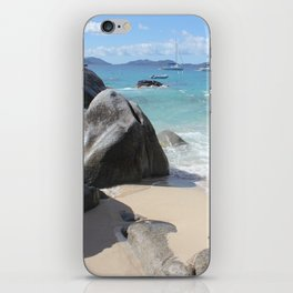 Scenic Beach at The Baths on Virgin Gorda, BVI iPhone Skin