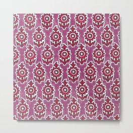 Indian lucite pink Metal Print