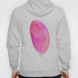 Pink Feather 01 Hoody