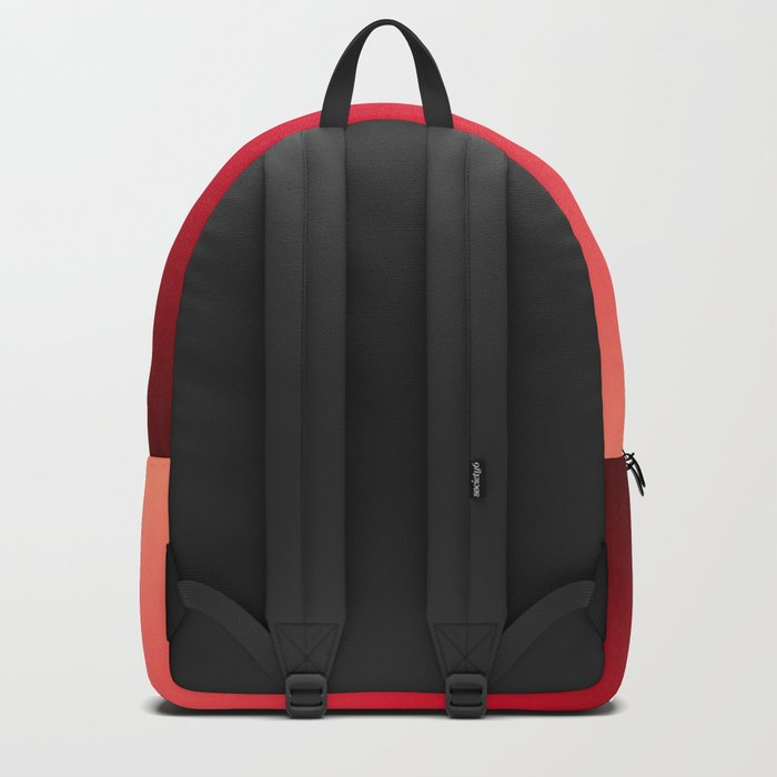 Ombre . Strawberries Backpack