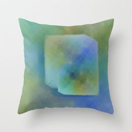 Duvet Cover 501Cube Throw Pillow