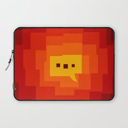 interesting background main color interaction Laptop Sleeve