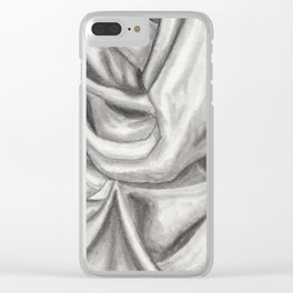 Fabric #6 Clear iPhone Case