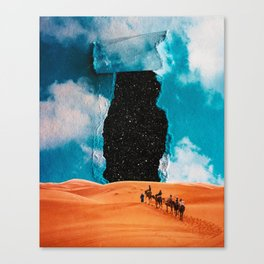 False Sky Canvas Print