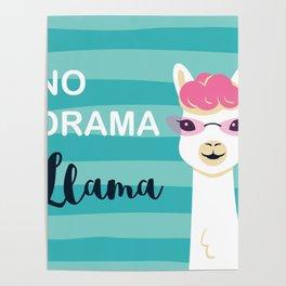 Llama , No Drama Poster