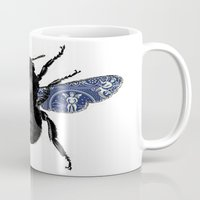 bug Mugs featuring BUG by shirleyabramson