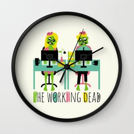 The working dead Wall Clock