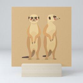 Meerkat, African Wildlife Mini Art Print