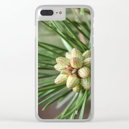 Christmas III Clear iPhone Case