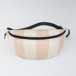 Neutral Peachy Stripe Fanny Pack