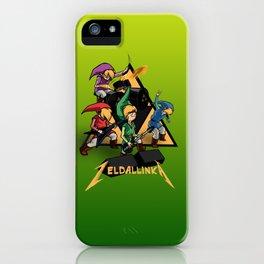 Zelda llinka - Red Green Blue & Purple Link iPhone Case