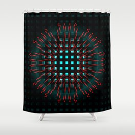 eclipsed. one Shower Curtain