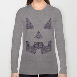 Pumpkin Artwork Long Sleeve T-shirt